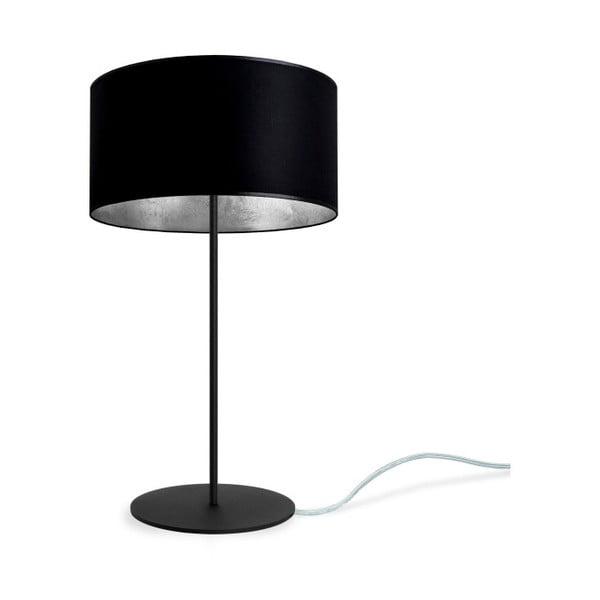 MIKA M 1T fekete-ezüstszínű asztali lámpa - Sotto Luce
