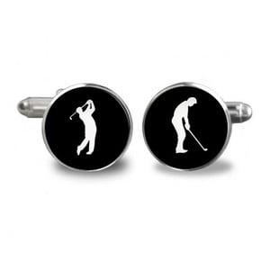 Sada 2 manžetových knoflíčků Butoni de Camasa Golf Player