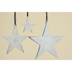 Set 3 stele decorative suspendate Boltze Star