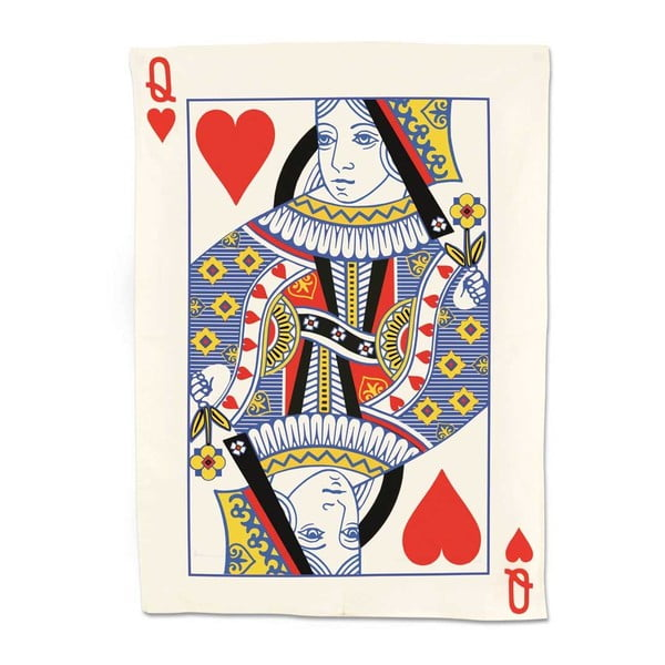 Utěrka Srdcová královna, 50x70 cm