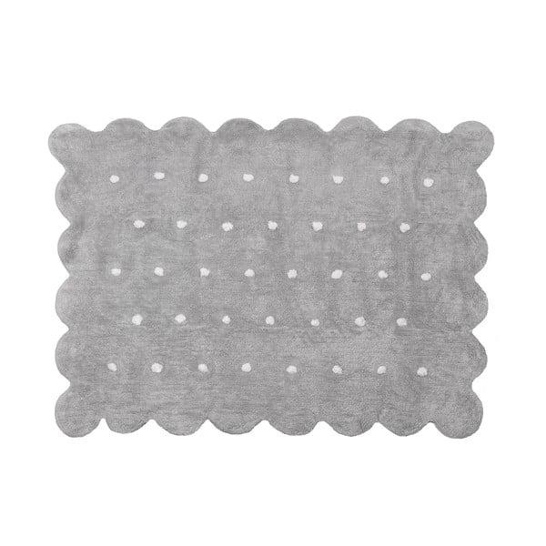Koberec Cookie 160x120 cm, šedý
