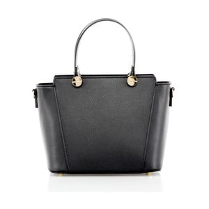 Černá kožená kabelka Glorious Black Enny