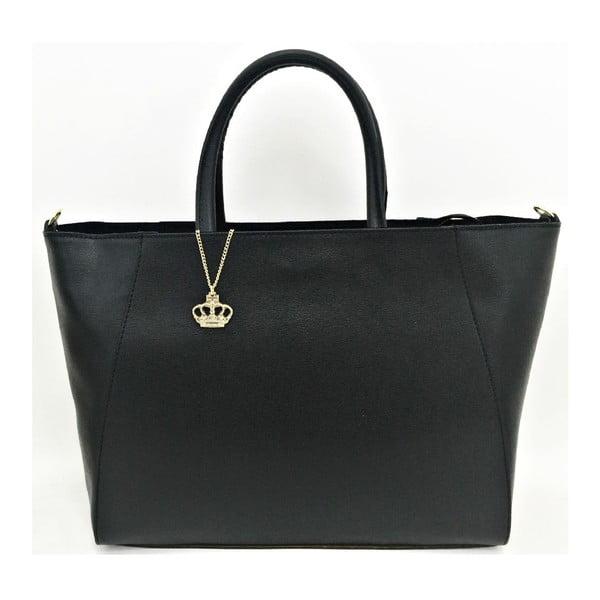 Kožená kabelka Gilda Black