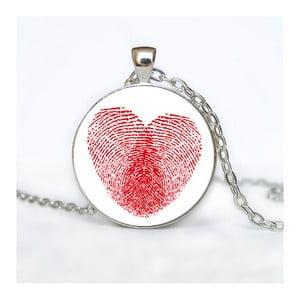Dámský řetízek s přívěskem Butoni de Camasa Heart Fingerprint
