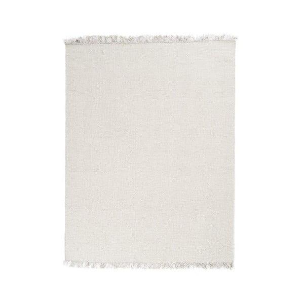 Vlněný koberec Rainbow White, 200x300 cm