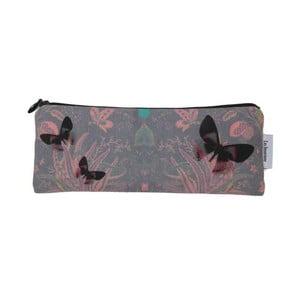Kosmetická taška Butterflies Grey