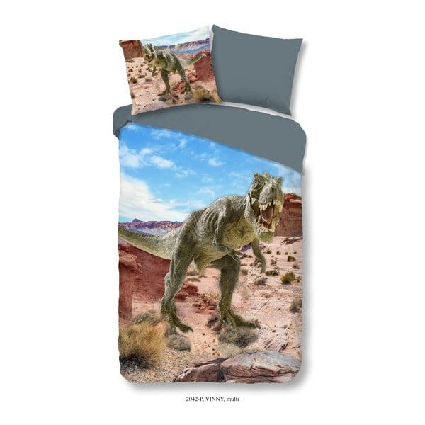 Lenjerie de pat din bumbac pentru copii Good Morning Vinny, 140 x 200 cm