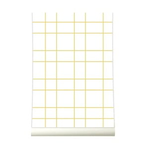 Tapeta Grid Yellow