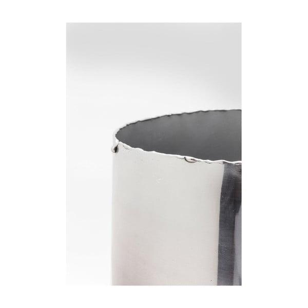 Vază decorativă Kare Design, înălțime 41 cm, aluminiu