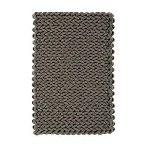 Vlněný koberec Helix Grey, 120x170 cm