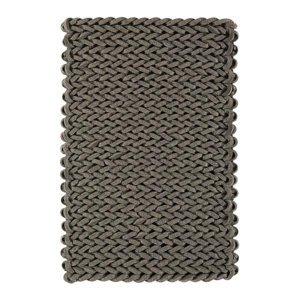Vlněný koberec Helix Grey, 160x230 cm