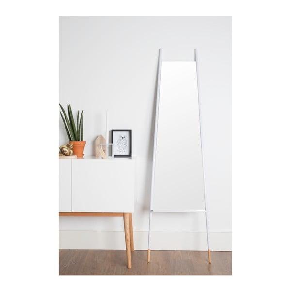 Bílé zrcadlo Zuiver Leaning