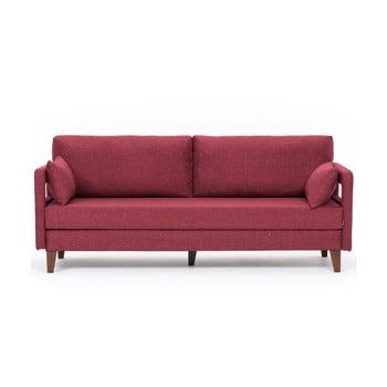 Canapea extensibilă Balcab Home Hannah bordeaux