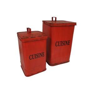 Sada 2 odpadkových košů Antic Line Cuisine