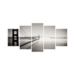 Vícedílný obraz Black&White no. 20, 100x50 cm