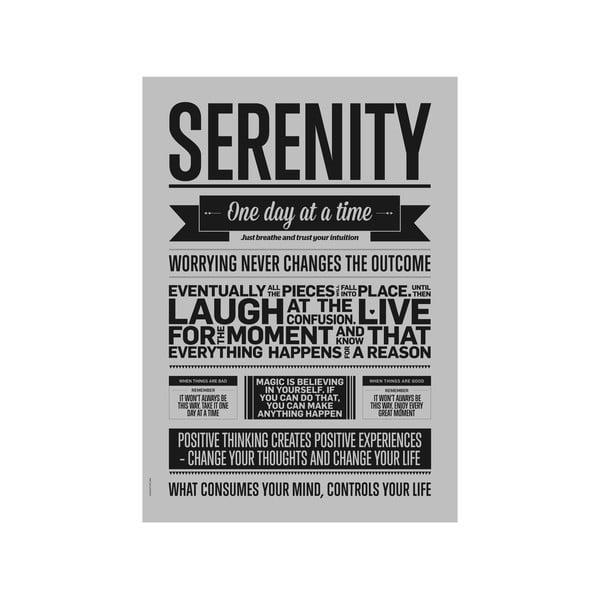 Autorský plakát Serenity Grey, A3