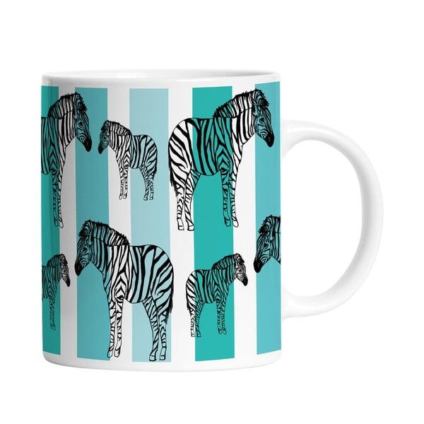 Keramický hrnek Striped Zebra, 330 ml