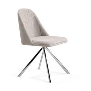 Šedobéžová jídelní židle Ángel Cerdá Lolla