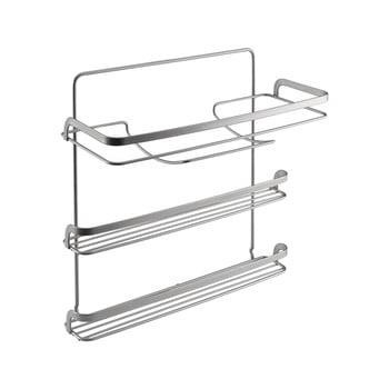 Suport cu 3 nivele pentru prosoapele de bucătărie Metaltex, lungime 33 cm de la Metaltex