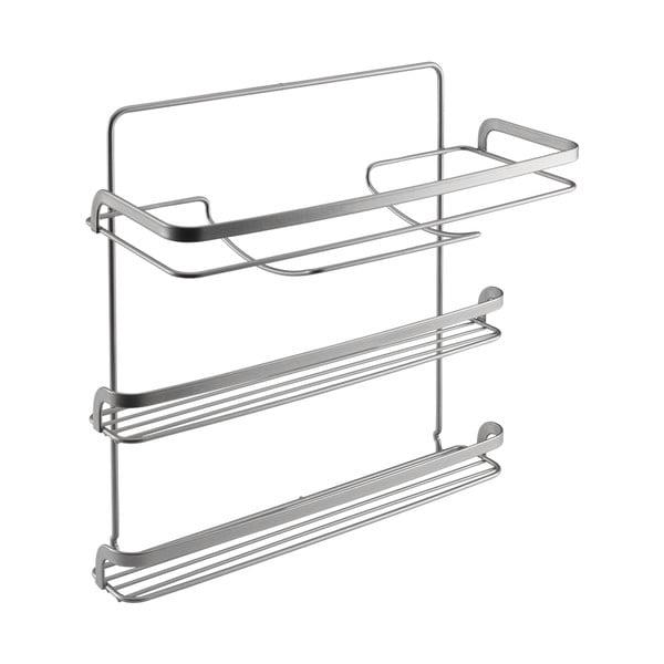 Suport cu 3 nivele pentru prosoapele de bucătărie Metaltex, lungime 33 cm