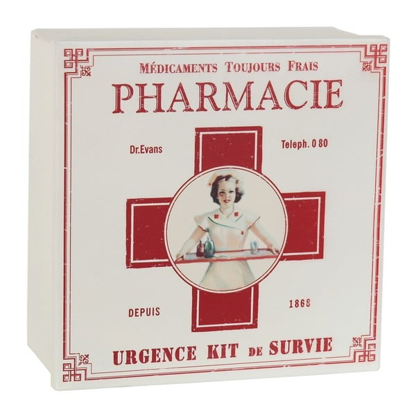 Box Pharmacie, 22x22 cm