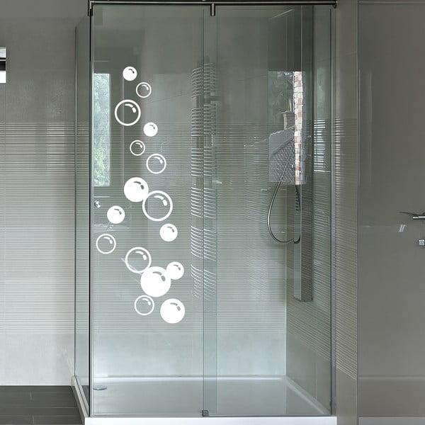 Autocolant pentru cabina de duș Soap Bubbles
