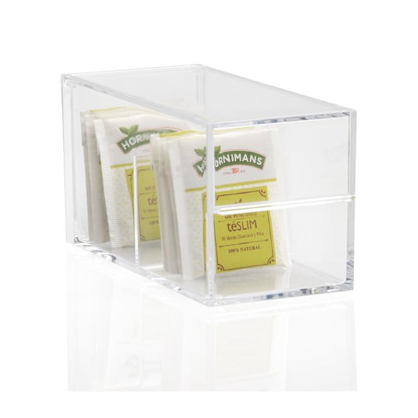 Akrylový box na čaj Alvis