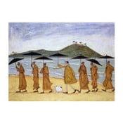 Obraz na plátně Směr meditace od Sam Toft, 80x60 cm