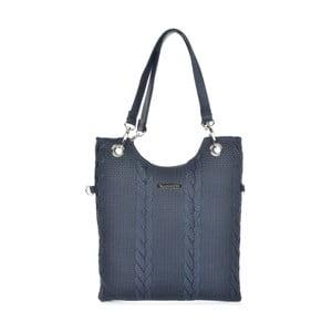 Poșetă din piele Mangotti Bags Rosalia, albastru închis