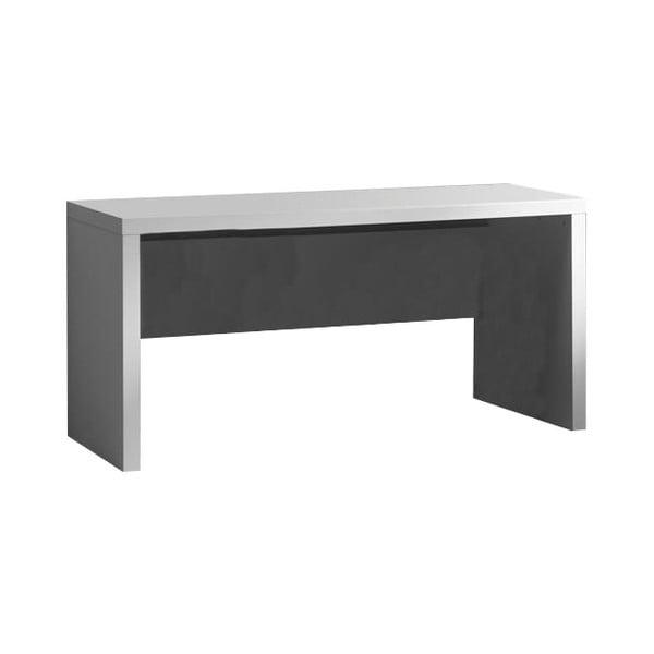 Białe biurko Vipack Lara, dł. 70 cm