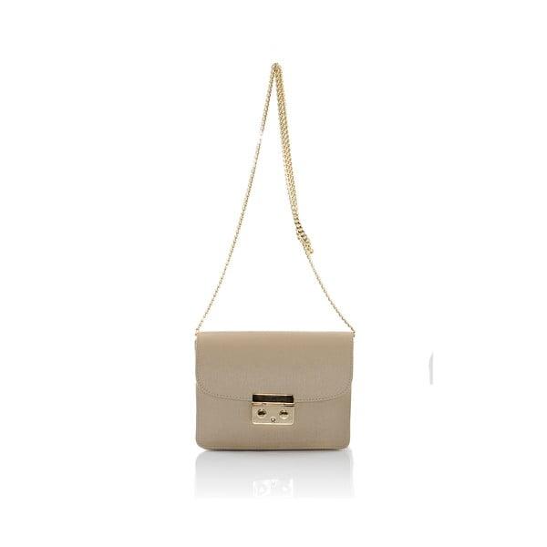 Kožená kabelka Markese 2416 Taupe