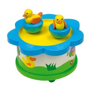 Dřevěná muzikální hračka Legler Duck Dance