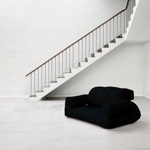 Canapea extensibilă Karup Hippo Black