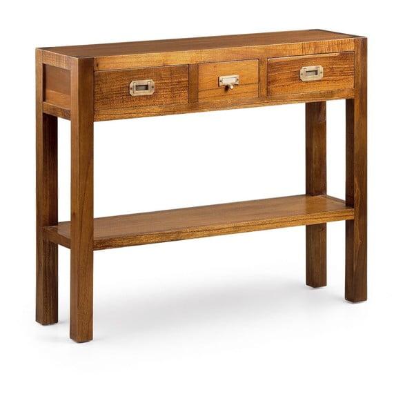 Konzolový stolík z dreva Mindi Moycor Star