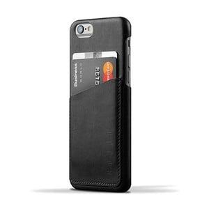 Peněženkový obal Mujjo Case na telefon iPhone 6 Black