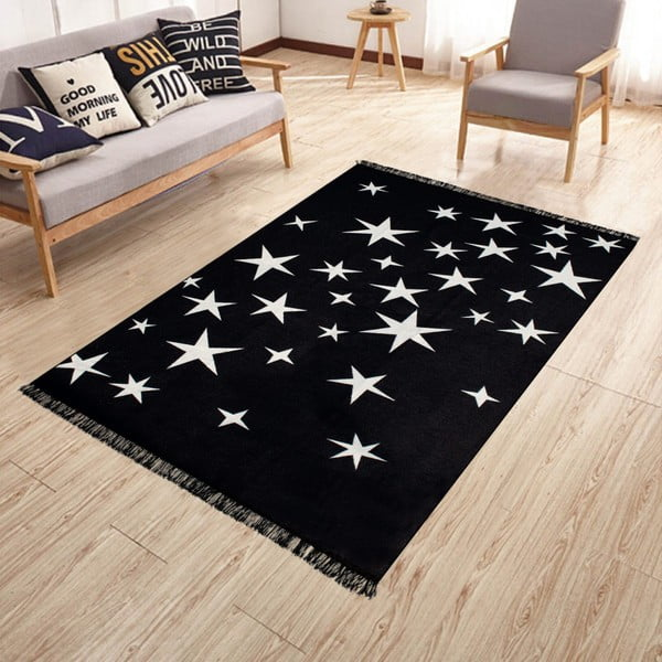 Oboustranný pratelný koberec Kate Louise Doube Sided Rug Milkyway, 140 x 215 cm