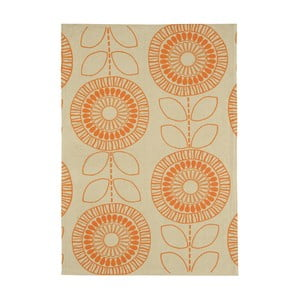Koberec Asiatic Carpets Onix Scandi Orange, 120x170 cm
