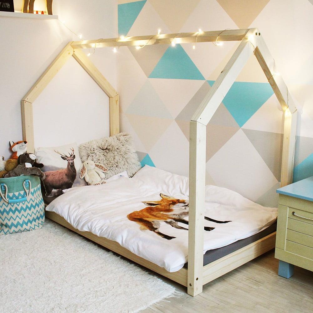 Dětská postel z borovicového dřeva Benlemi Tery, 70 x 160 cm