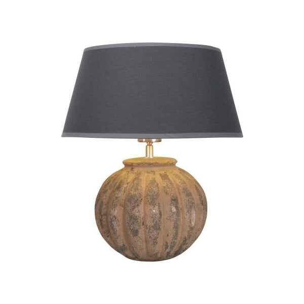 Stolní lampa Carlton Earth/Anthrazit