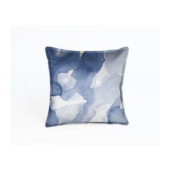 Față de pernă decorativă Velvet Atelier Sky, 45 x 45 cm, albastru de la Velvet Atelier