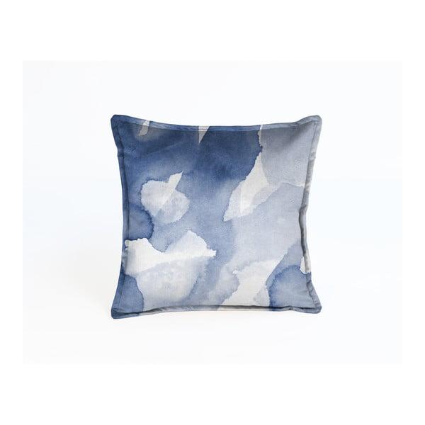 Niebieska dekoracyjna poszewka na poduszkę Velvet Atelier Sky, 45x45 cm