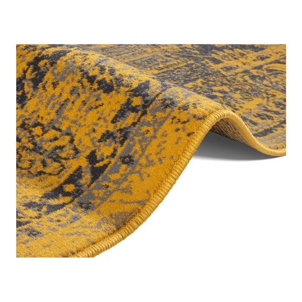 Žluto-šedý koberec Hanse Home Celebration Garitto, 80 x 150 cm