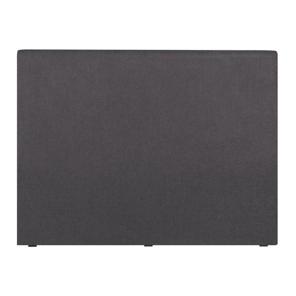 Tmavě šedé čelo postele Windsor & Co Sofas, 200x120cm