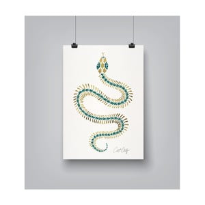 Poster Americanflat Serpent Skelet, 30 x 42 cm