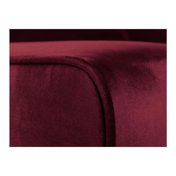 Dvojmístná pohovka v barvě burgundy Cosmopolitan Design Denver