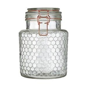 Skleněná dóza Premier Housewares Jar, 13 x 18 cm