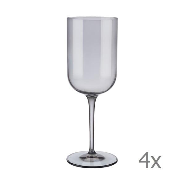 Mira 4 db szürke vörösboros pohár, 400 ml - Blomus