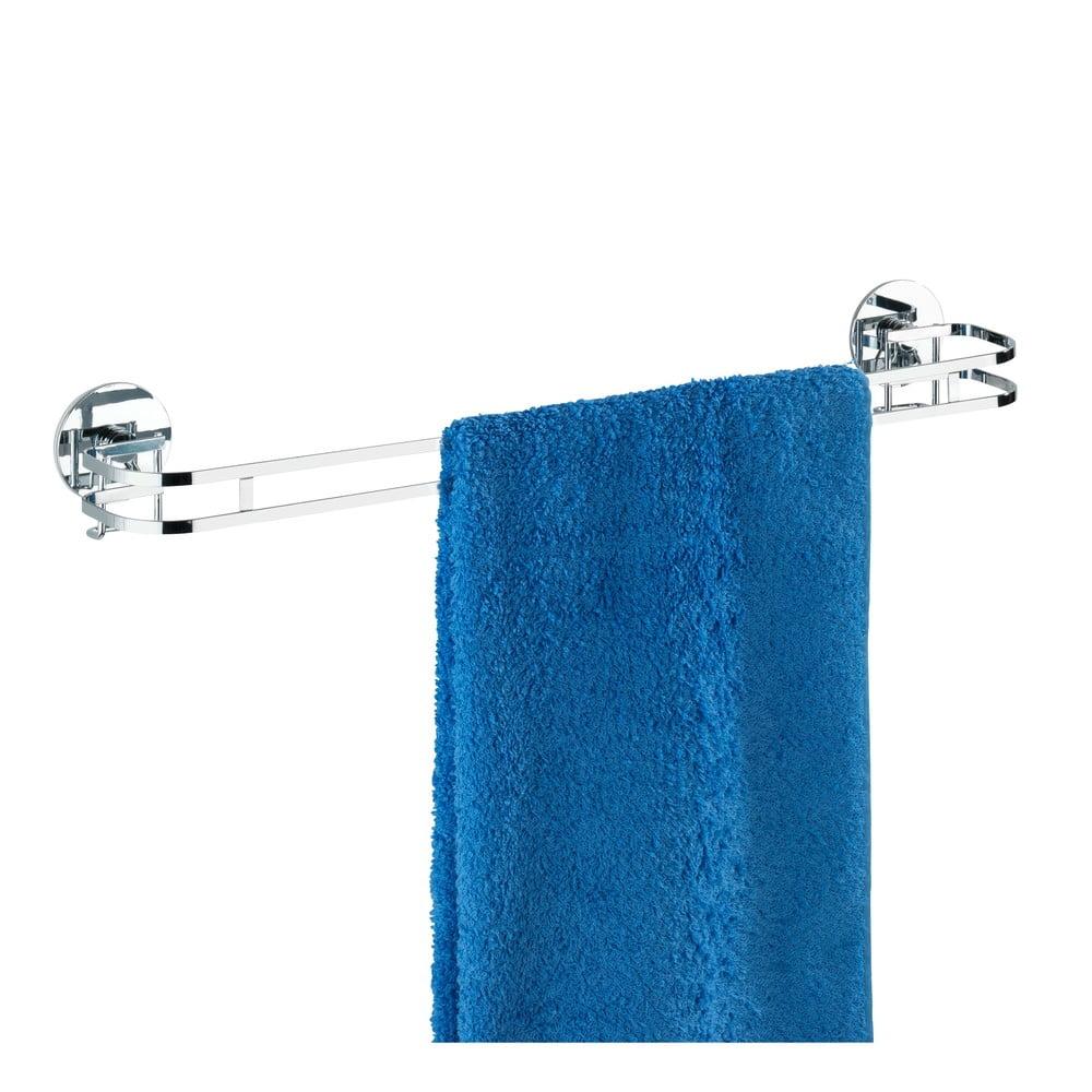 Samodržící věšák na ručníky Wenko Turbo-Loc 52 cm, až 40 kg