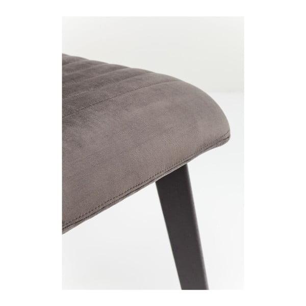 Set 2 scaune Kare Design Lara, gri închis