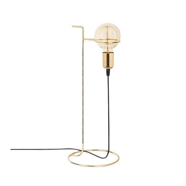 Kovová stolní lampa ve zlaté barvě Opviqlights Ersi
